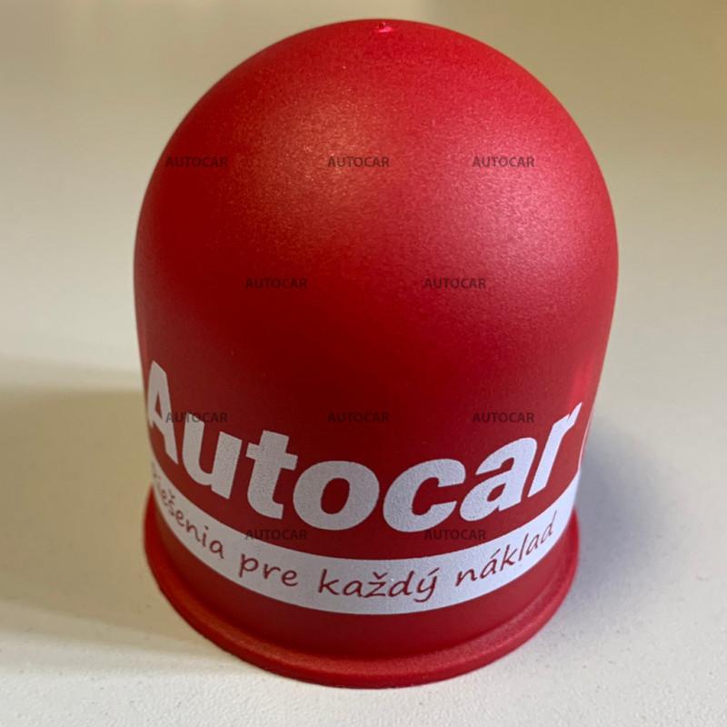 Kunststoff-Kappen auf den Ball - rot