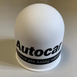 Kunststoff-Kappen auf den Ball - weiss