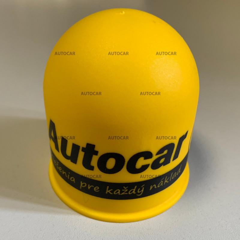 Kunststoff-Kappen auf den Ball - gelb