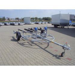 Anhänger Aqua Double 1350H für Transport von Wasserfahrzeugen
