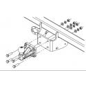 Anhängerkupplung für JUMPER - L4 - dodávka - manuell–AHK starr - von 2006/07