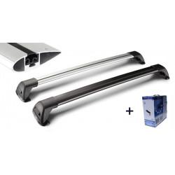 Dachträger Whispbar mit Überlappungs - aluminium